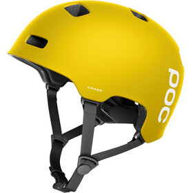 POC Crane Bike Helmet yellow